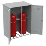Шкафы под газовые баллоны
