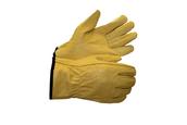 """Перчатки  кожаные желтые""""ДРАЙВЕР"""", RX 5003,10"""
