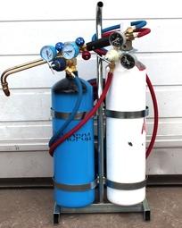 Пост газосварочный ПГУ - 5А ацетиленовый переносной Пост (с баллонами 5л)